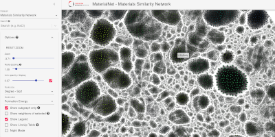 MaterialNet screenshot